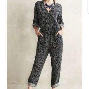 Anthropologie Lilka Atacama jumpsuit